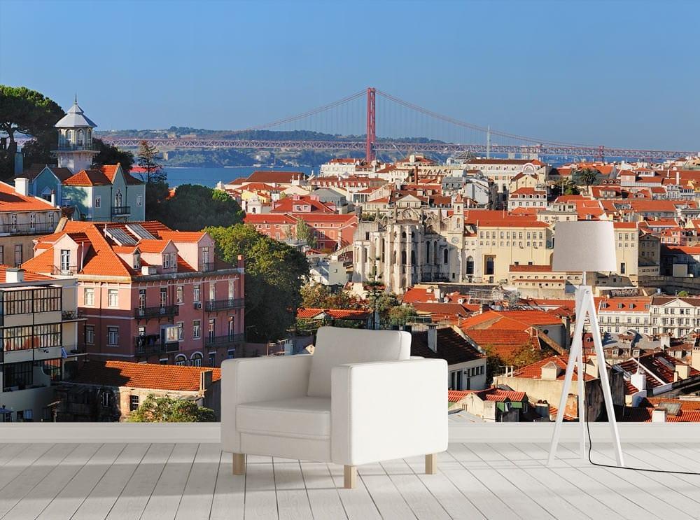 Panorâmica para Lisboa