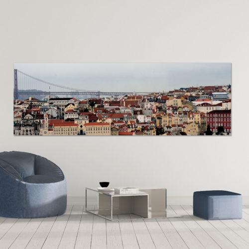 Baixa de Lisboa em pvc