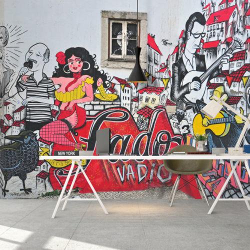 Fado Vadio Mural