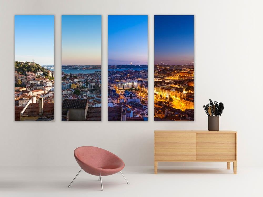 Lisboa Quadriptico