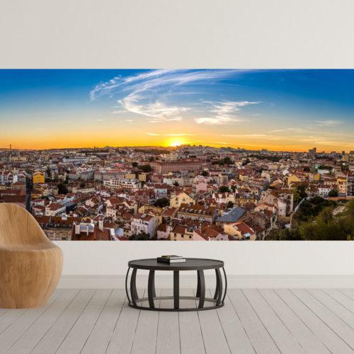 Lisboa e o Sol faixa mural