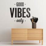 Good Vibes vinil decorativo