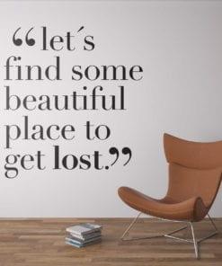 Let´s Get Lost