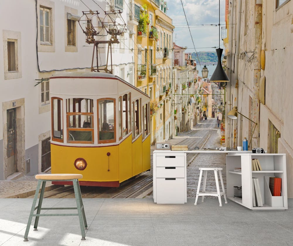 Mural Lisboa Tradicional