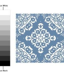 Azul Pastel - Espectro de Cores