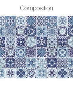 Azul Português - Composição