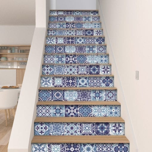 Azul Português - Escadas