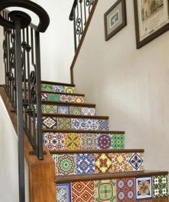 Azulejos Autocolantes Talavera - Escadas 1