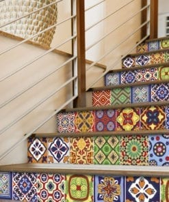 Azulejos Autocolantes Talavera - Escadas