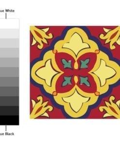 Azulejos Autocolantes Talavera - Espectro de Cores