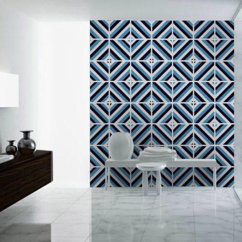 Azulejos Mid Century Diagonal