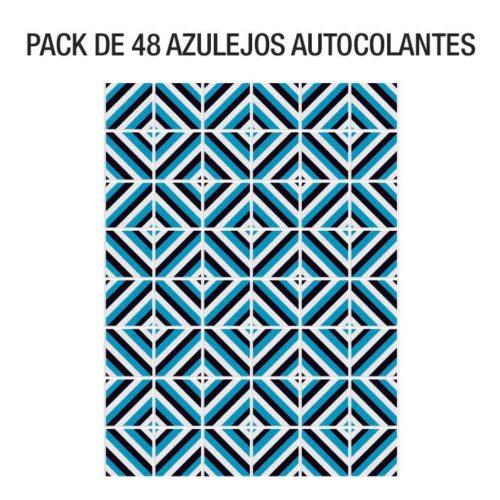 Azulejos Mid Century Diagonal Pack Blue