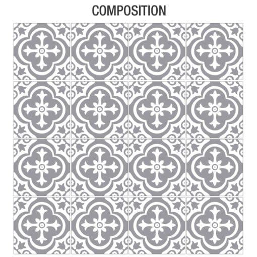 Estilo Marroquino Tradicional - Composição
