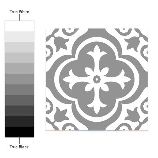 Estilo Marroquino Tradicional - Espectro de Cores