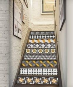Geométrico Vintage - Escadas