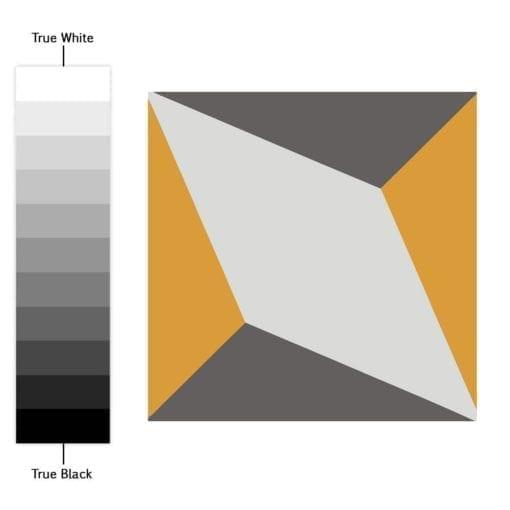 Geométrico Vintage - Espectro de Cores