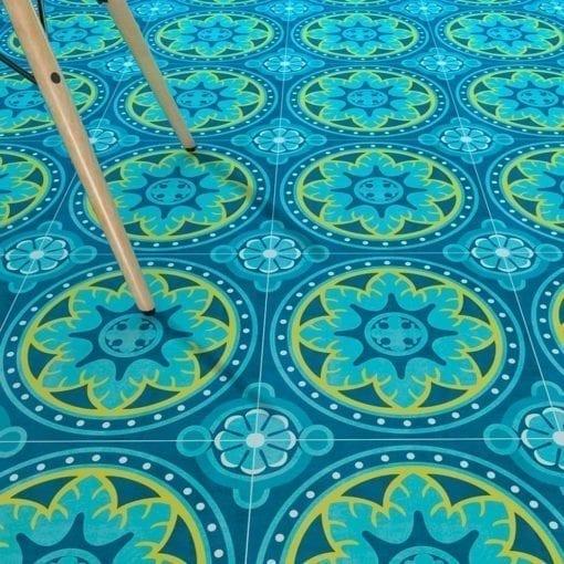 Mandalas Azul Antigo 1