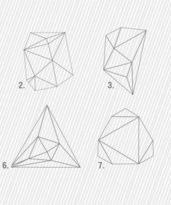 Formas Geométricas em Linhas Modelos