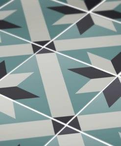Azulejo Tradicional Francês Autocolante - Detalhe