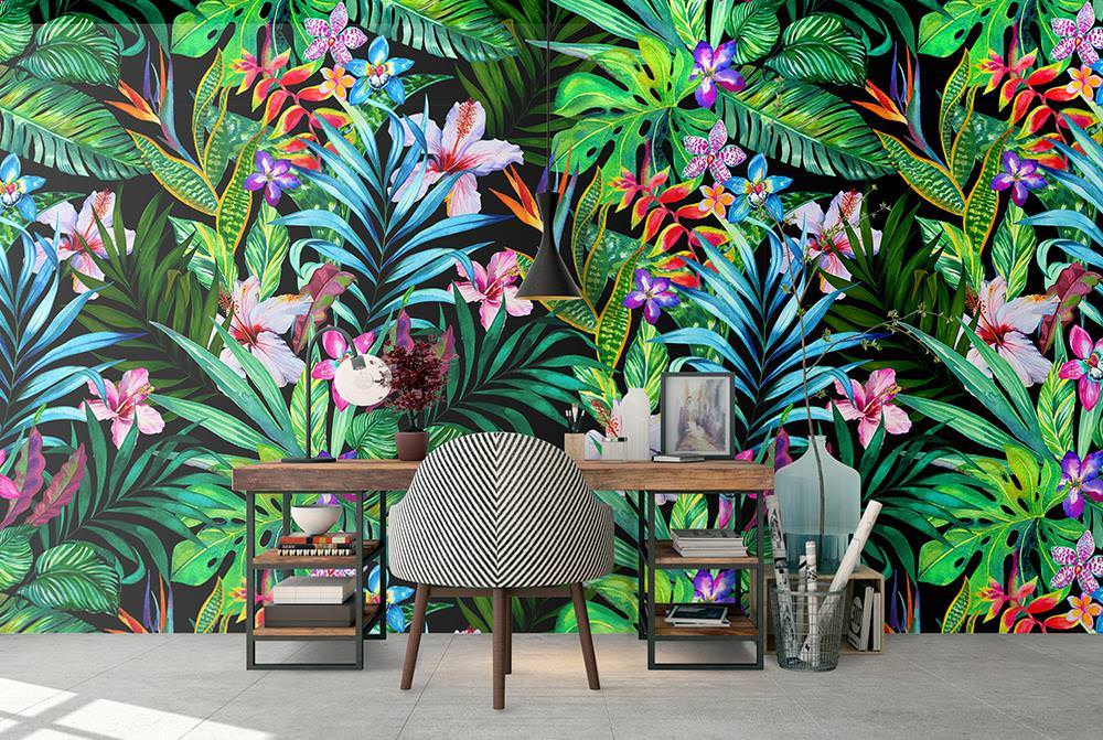 papel de parede tropical On papel pared tropical