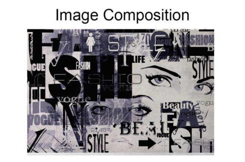 Papel de Parede Vogue Composição