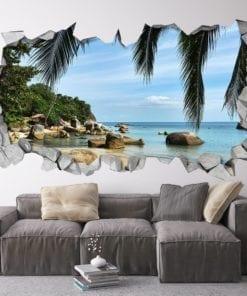 A Praia Efeito 3D