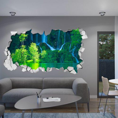 Cascata Verde Paredes 3D