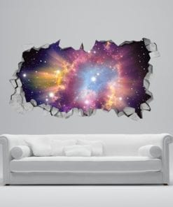 Cosmic 3D Wallpaper