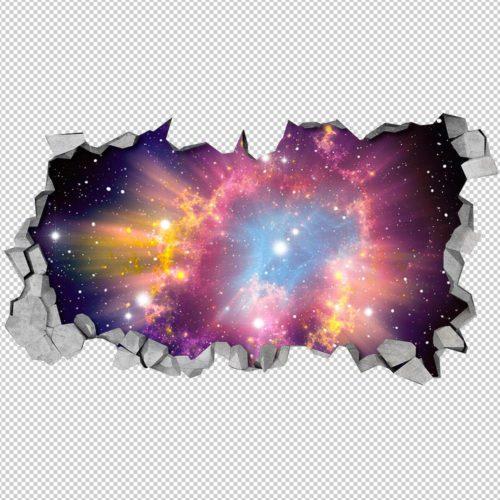 Cosmic 3D Wallpaper Detalhes