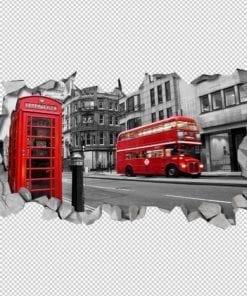 Londres 3D Wallpaper Detalhes