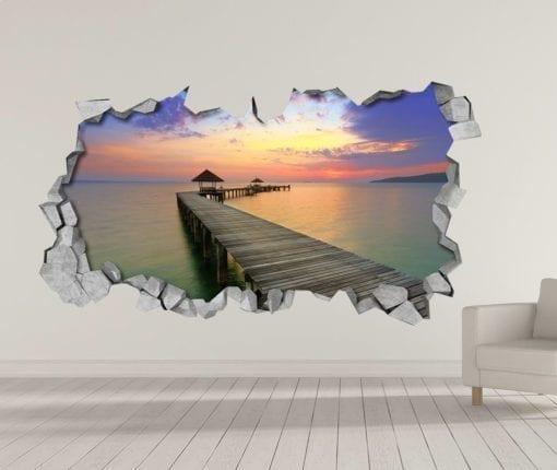 Mar a Dentro Wallpaper 3D