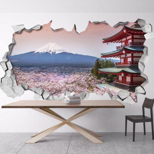 Monte Fuji Paredes 3D