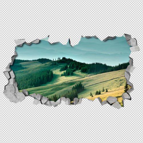 O Bosque 3D Wallpaper Detalhes