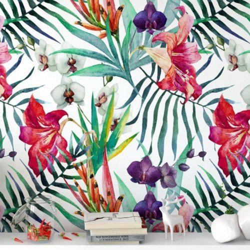 Orquídeas Aguarela