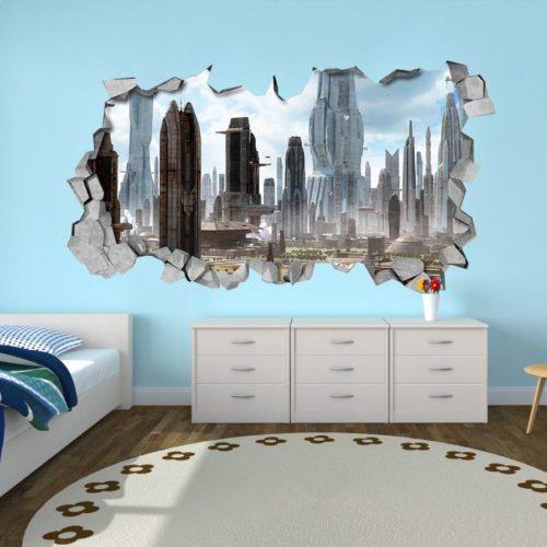 SCI-FI 3D Wallpaper