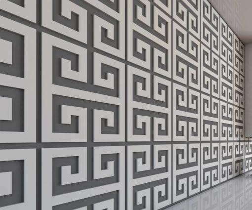 Chave Grega Painéis Decorativos 3D