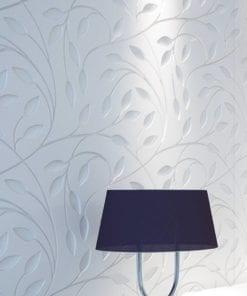 Floral em Baixo Relevo Revestimentos 3D - 1