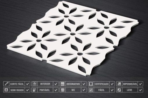 Painéis Decorativos 3D Flor Detalhes