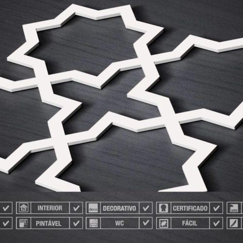 Revestimentos 3D Para Parede Quadristar Detalhe