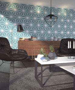 3D Wall Panels Mid Century