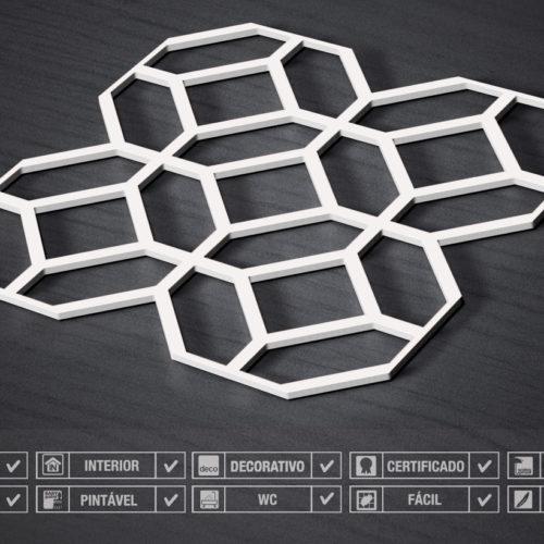3D Wall Panels Modernos Detalhes