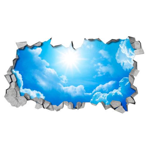 Céu Efeito 3D para Teto Detalhes