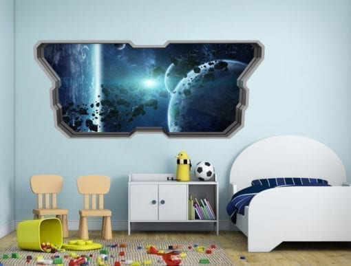 Cinturão de Asteróides Wallpaper 3D