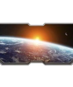 Janela da Nave Espacial Wallpaper 3D Detalhes