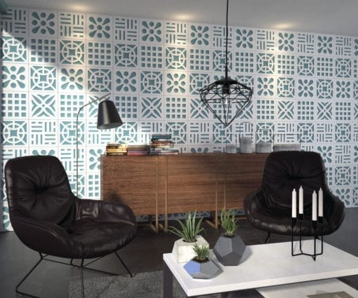 Mid Century 3D Wall Panels