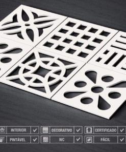 Mid Century 3D Wall Panels Detalhes