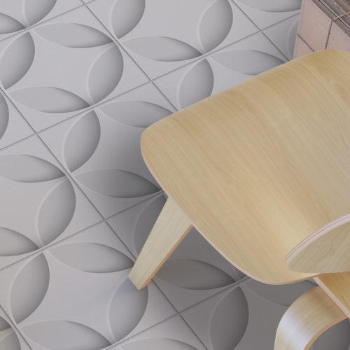Azulejo Estrelas 3D autocolante-Floor