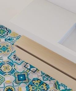 Azulejo Colorido Autocolante - Chão