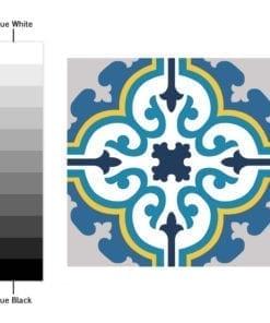 Azulejo Colorido Autocolante - Espectro de Cores