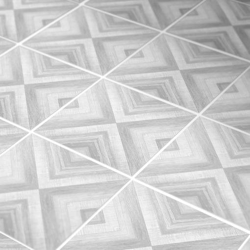 Azulejo Geométrico Desenho em Carvão Autocolante - Detalhe